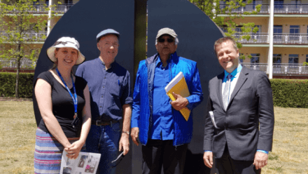 HRC-hosted ANU Sculpture Walks